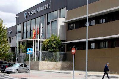 Madrid inspeccionará un colegio donde las niñas hacen ganchillo y los niños van al Bernabéu. El centro católico concertado Juan Pablo II de Alcorcón ya tuvo una polémica con el colectivo LGTBI. El País, 2017-04-11 http://ccaa.elpais.com/ccaa/2017/04/11/madrid/1491912668_743950.html