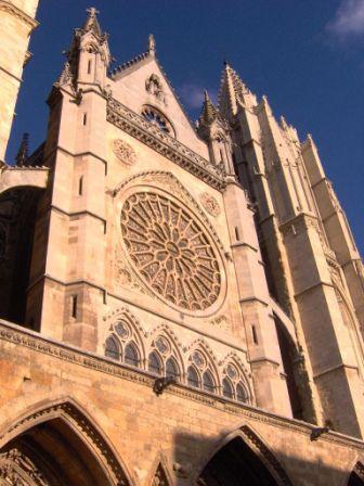 Catedral gótica de León #leon #viajes
