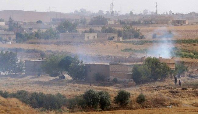 Turkish military shells Syrian Kurdish YPG positions in response to cross-border fire