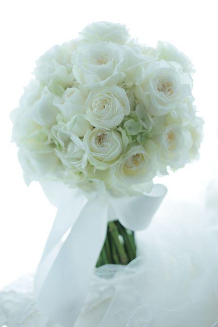 明治記念館さまへ、白のバラのブーケでした。でもそれはただの白のバラのブーケではなくてこのくらいの大きさで、このくらいの咲き加減で、と十分に吟味された結果の...