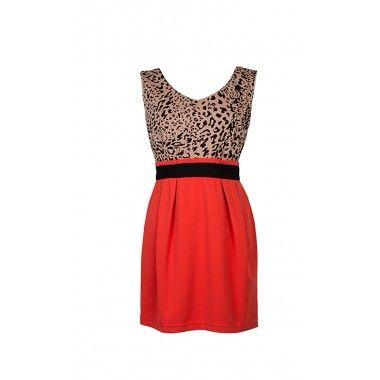 Fashion red/ orange Dress