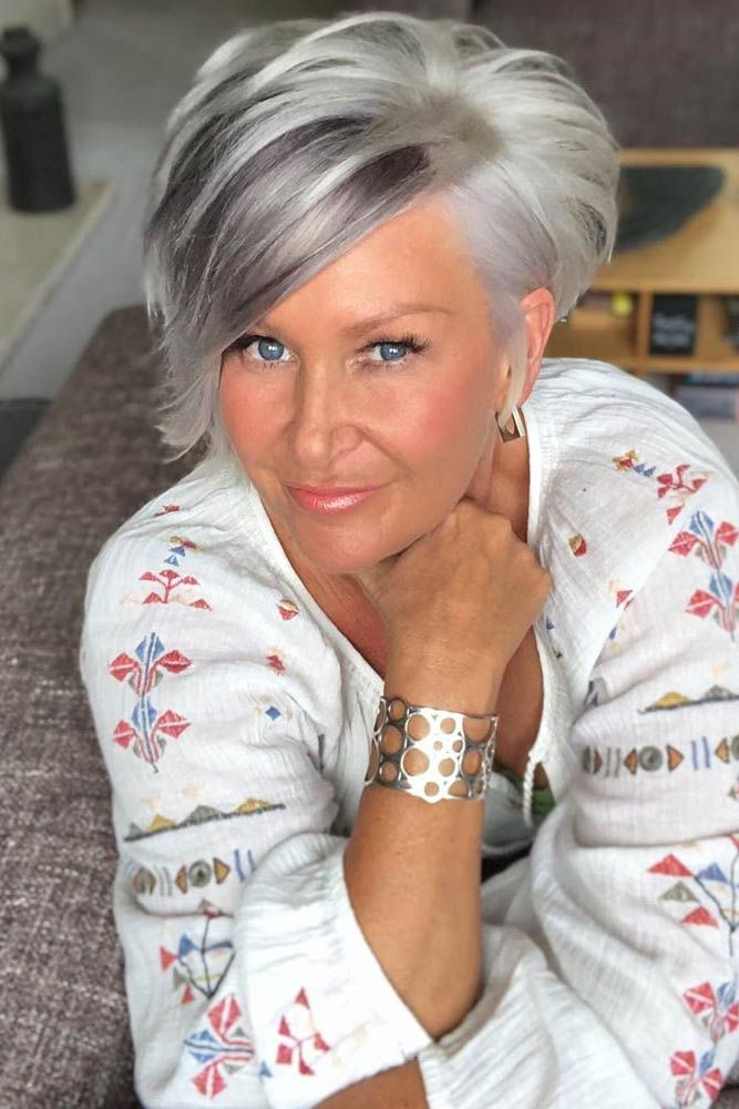 85 Incredibly Beautiful Short Haircuts For Women Over 60 Lovehairstyles Short Hair Over 60 Hair Styles Short Grey Hair