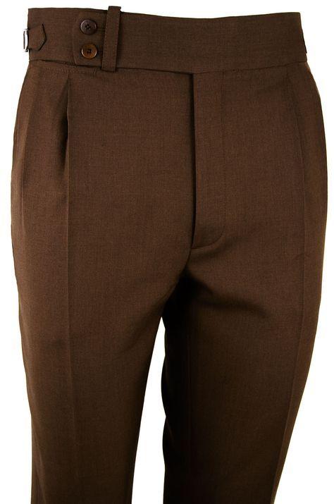 Pantalón P3 2P TA 5430 - Marrón #pantalones #casual #hombre #trousers #men #gentleman #style #lopezaragon #spain #menswear #menstyle #handmade #wool #estiloespañol #bespoke #fattoamano #menwithclass #fashion #dapper