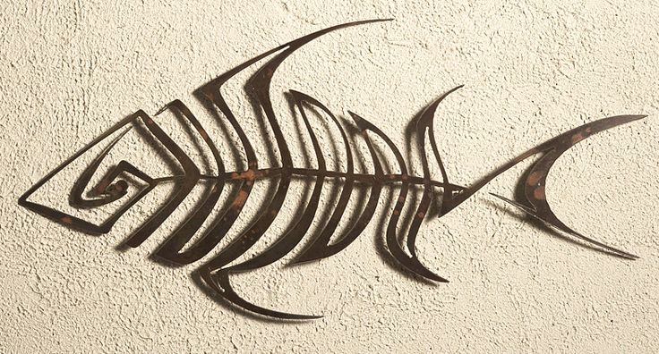 25 best ideas about metal wall art decor on pinterest for Fish metal wall art