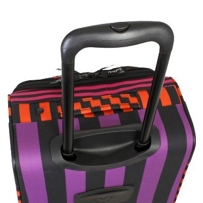 French West Indies 20 Spinner Carry On Luggage - Bahia Purple Drift