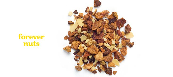 Forever Nuts - Apple, almonds, cinnamon, beetroot and artificial flavouring