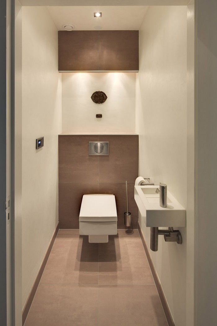 lichte, modern toilet - THIS ONE IS THE POWDER ROOM!!!!!!!!!! MUST DO THIS!!!