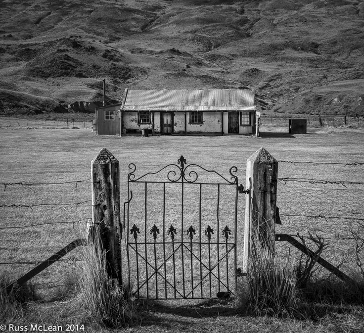 """""""Musterer's Cottage"""" - Nevis Valley, South Island, NZ.  Set in the beautiful & historic Nevis Valley, this cottage has withstood the rigours of many winters & provided shelter for hardy men & dogs. For more information and images please visit www.insyncphotography.co.nz/new-images/"""