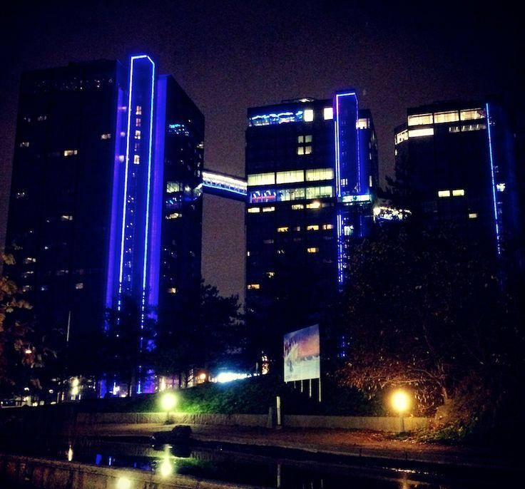 Gothia Towers at night #gothiatowers  #göteborg #gothenburg #sweden #schweden