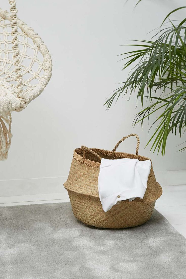 17 best Paniers déco images on Pinterest | Baskets, Basket and Braid out