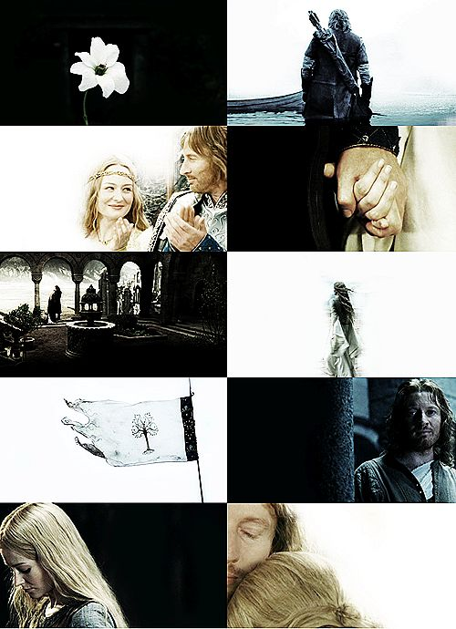 Faramir & Eowyn in The Lord of the Rings