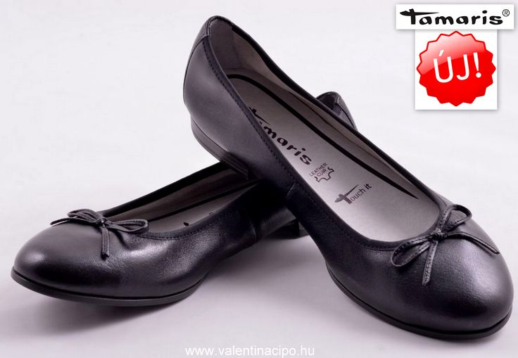 Mai napi Tamaris fekete balerina cipő ajánlatunk!  http://valentinacipo.hu/22116-26-001  #tamaris #tamaris_webshop #tamaris_cipőbolt #balerina_cipő