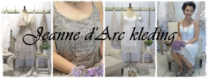 JEANNE D'ARC ROMANTISCHE KLEDING
