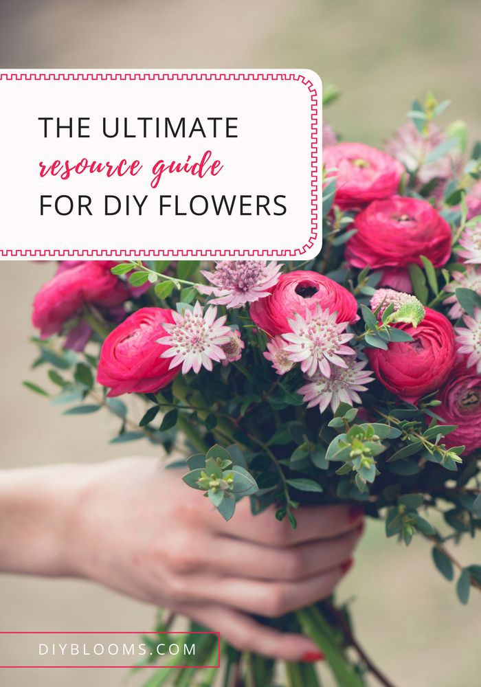 Everything You Need For DIY Flowers Your Wedding Day Seriously This Page Is