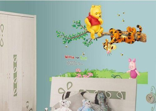 Ankin Winnie The Pooh Tiger Sitting On A Branch Wall Sticker And Decal By  MadebyLuv   Wall Decals   Wall Decals Quotes Part 93