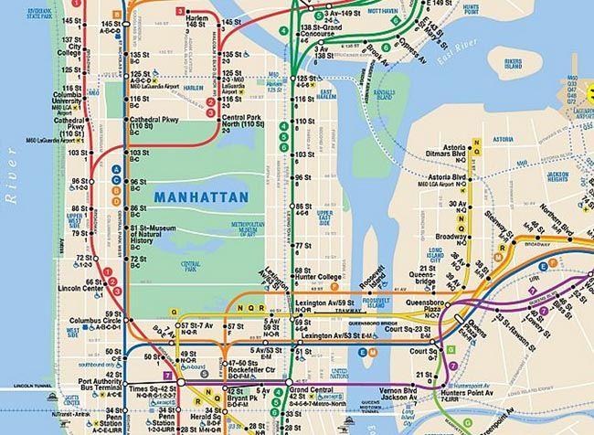 New York - Petit mode d'emploi du métro