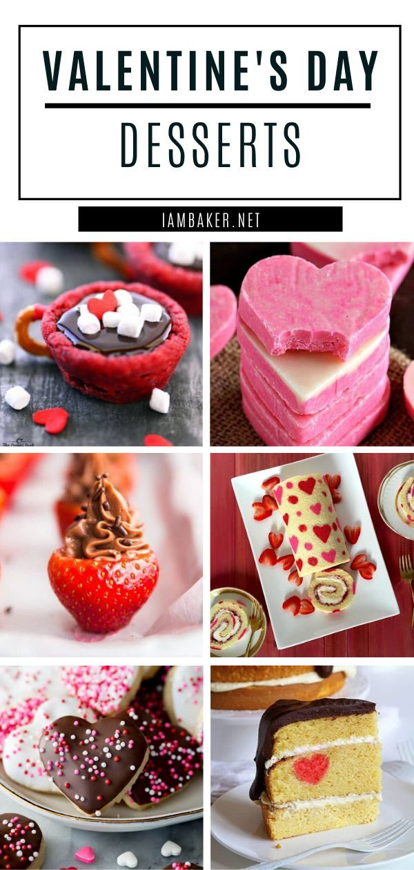 The Perfect Valentine S Day Dessert Recipes For A Romantic Dinner