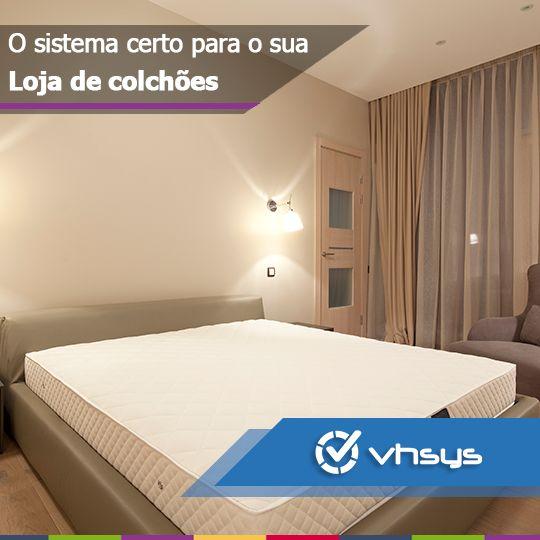 O VHSYS é um sistema que se adapta perfeitamente para sua Loja de Colchões   Saiba mais e Experimente Gratuitamente: http://vhsys.com.br/blog/sistema-de-gestao-loja-de-colchoes/
