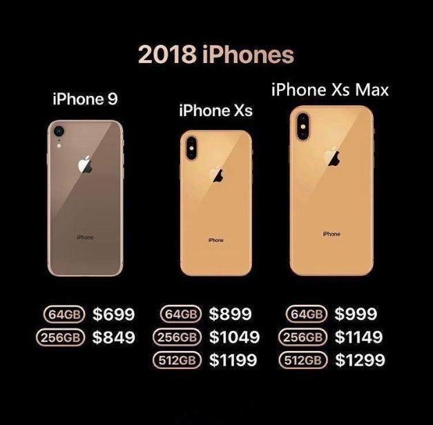 iPhone X 2018 phiên bản màu vàng gold đã lộ diện trên iPhone Xs và …