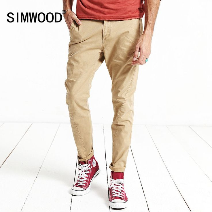 Autumn Winter casual pants men length  fashion trousers  slim fit  brand clothing
