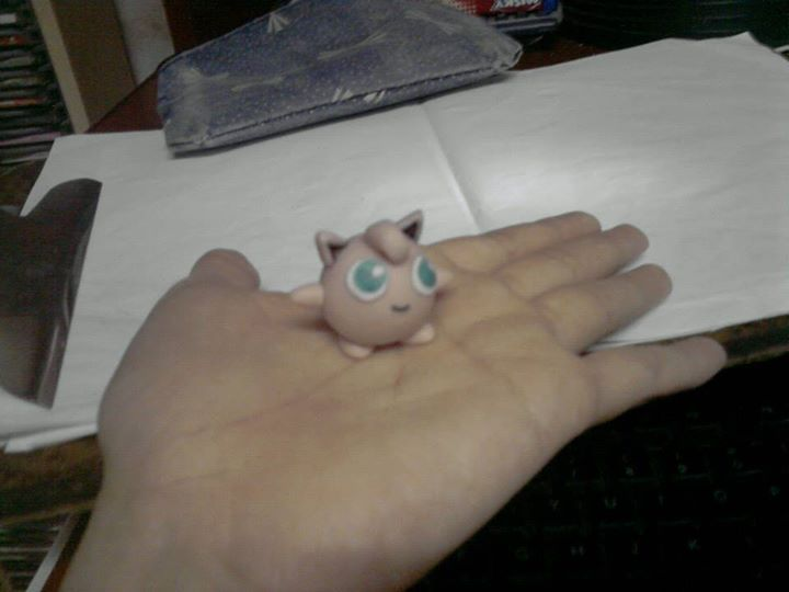 Jigglypuff Polymer Clay Porcelana Fria Masa Flexible Pokemon