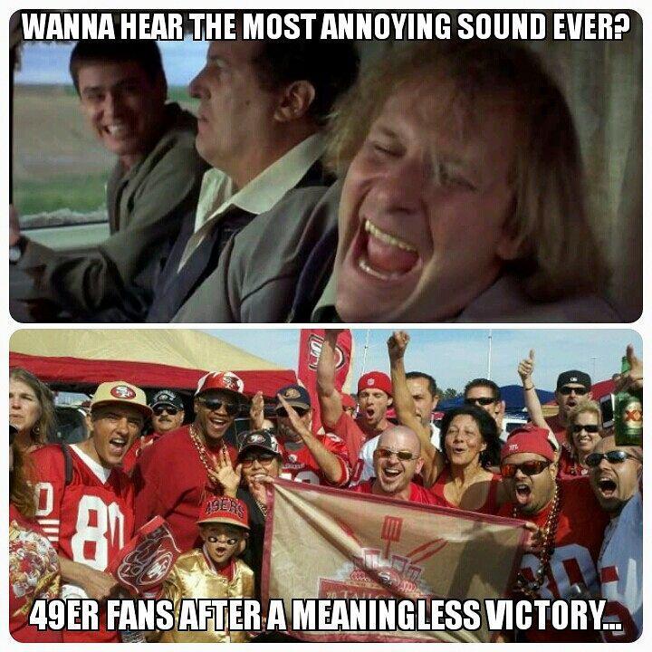 122 Likes 13 Comments Hugo A Padilla Poweredbyfrijoles On Instagram Sorry 49er Fans I Had To Make This Meme Tha Football Jokes Football Memes Memes