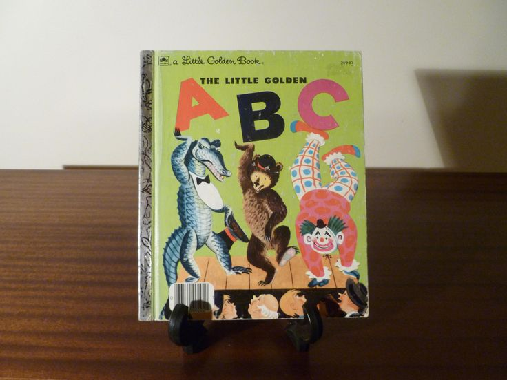 $8  Here is a Childrens book from 1979: The Little Golden ABC A part of the Little Golden Book series.