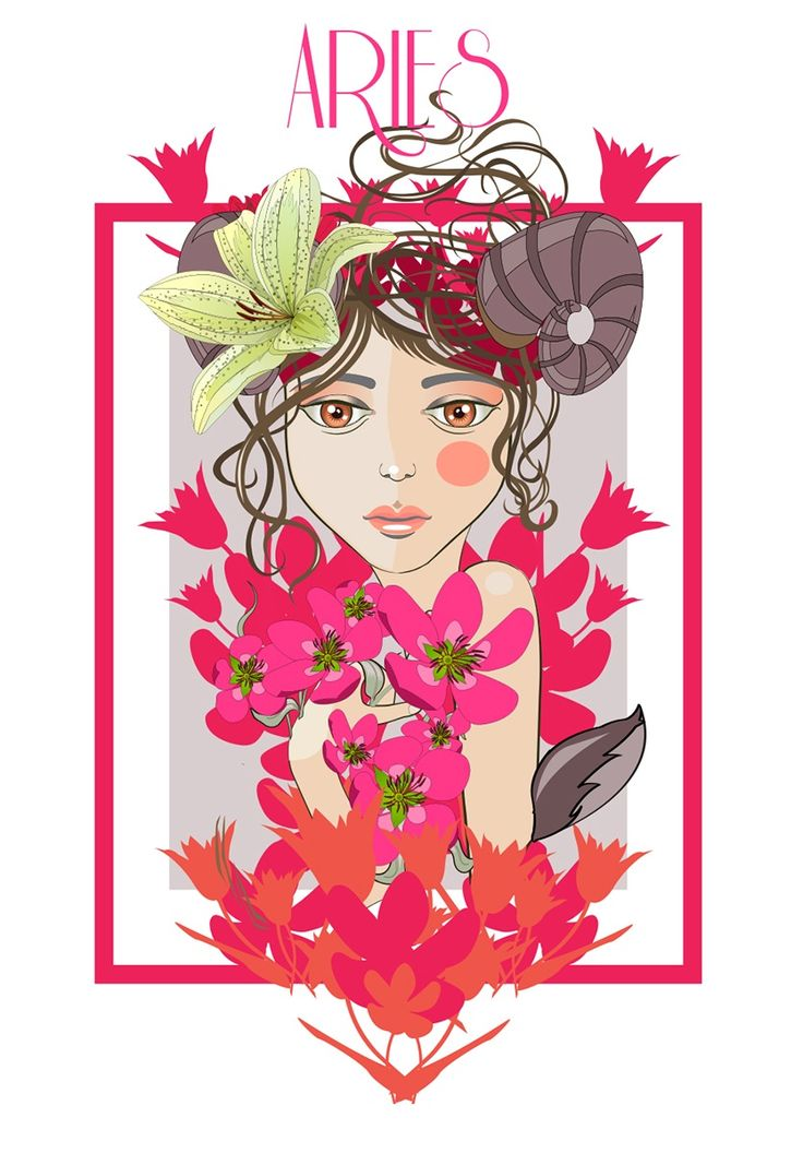 127 best images about aries on pinterest zodiac society for Flowers for aries woman