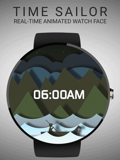 TIme Sailor | Real-time Animated Watchface #moto360 #androidwear #watchface #smartwatch #animation https://play.google.com/store/apps/details?id=insideglobe.timesailor.animatedwatchface
