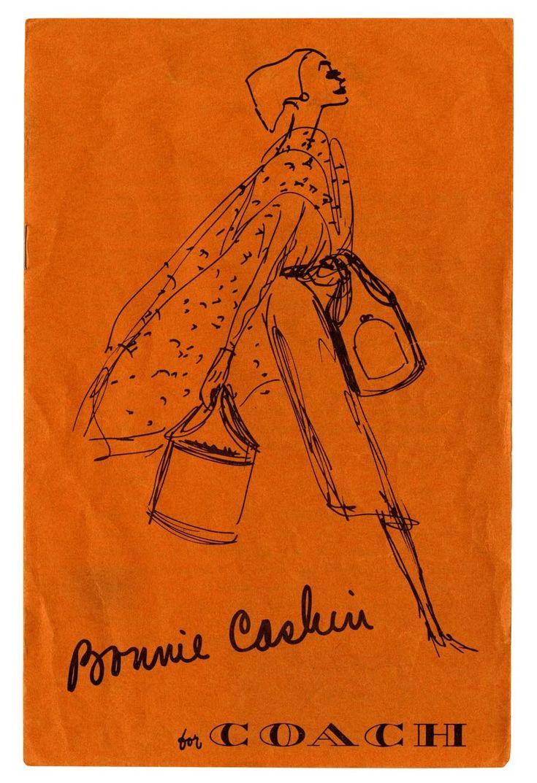 Bold like Bonnie Cashin: her original 1962 sketch for Coach.