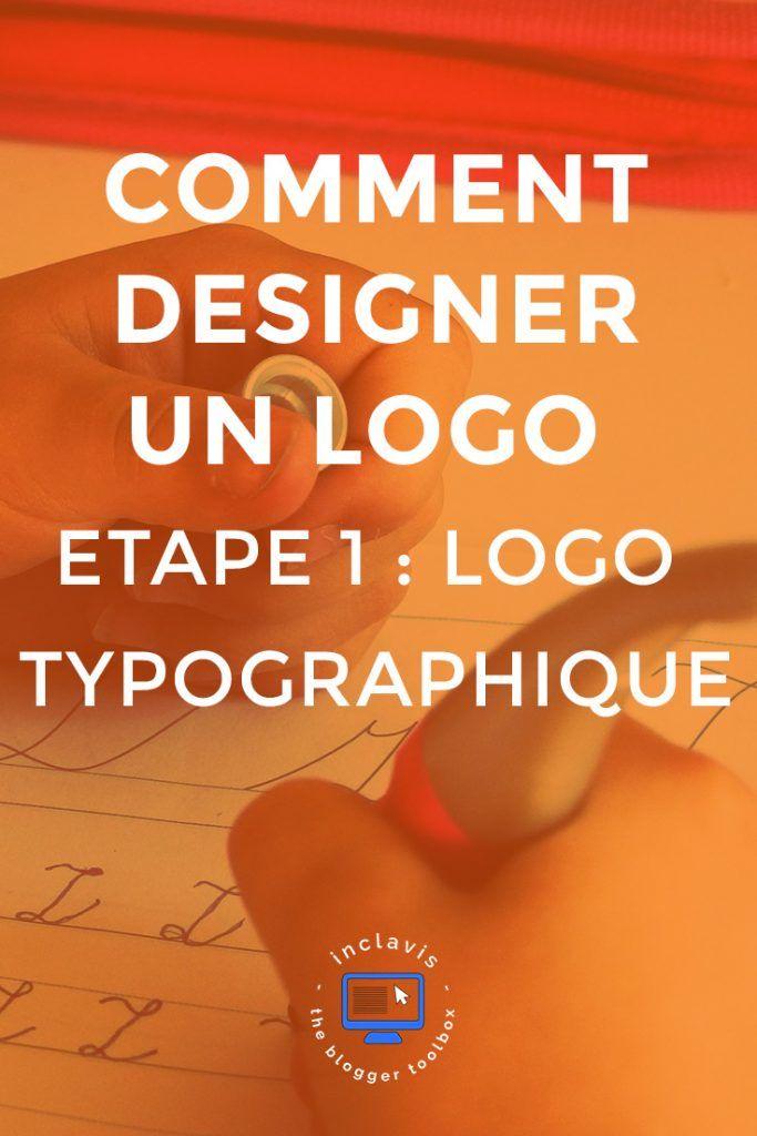 creer un logo typographique