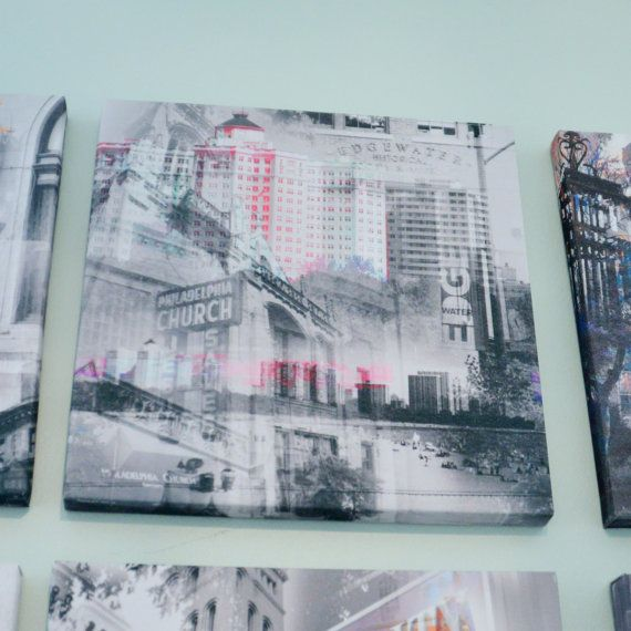 Edgewater Neighborhood  Chicago Photography Collage by madcanvases