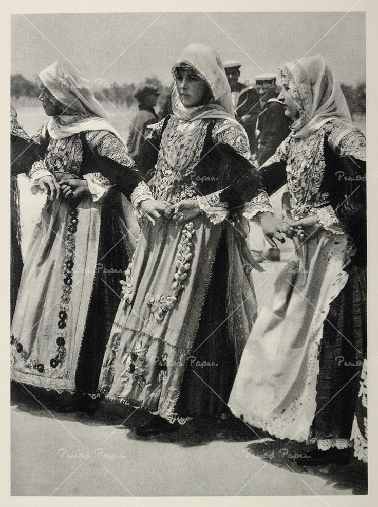 Image detail for -photo of women in traditional dress, 1937