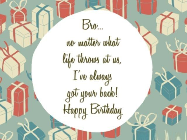Happy Birthday Wishes for Brother quotes and images