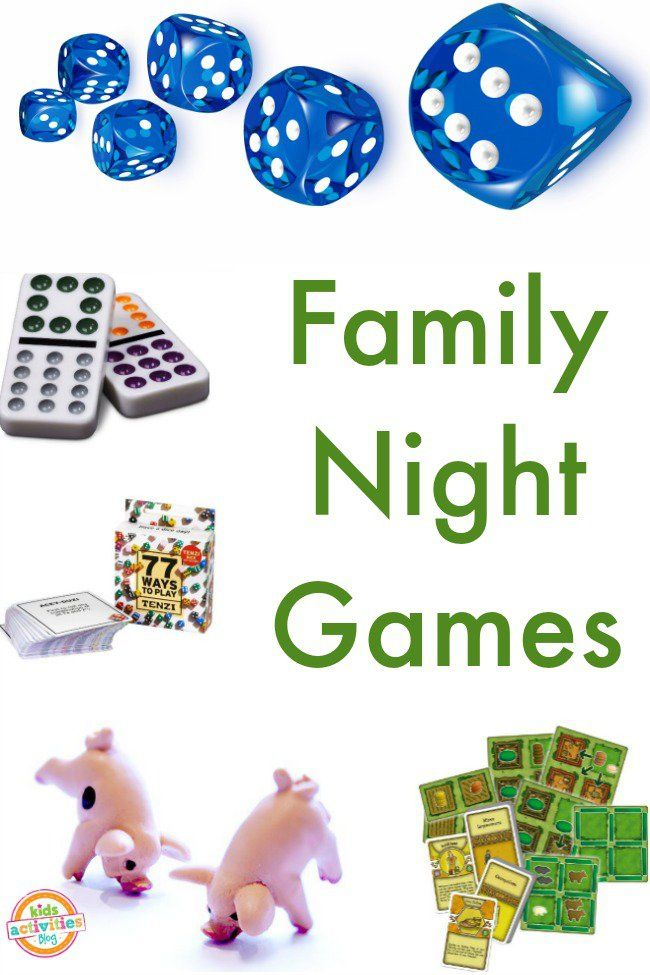 Game night can be a great way to bring families together! Since we've already talked about fun outdoor games for families, today we are bringing you the b Family Activities (all ages), Kids Activities (by Age)
