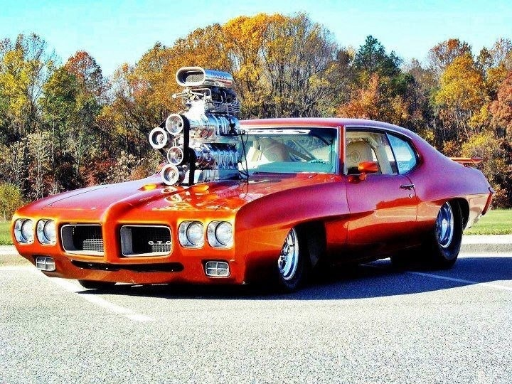 muscle car with huge blower cars pinterest cars