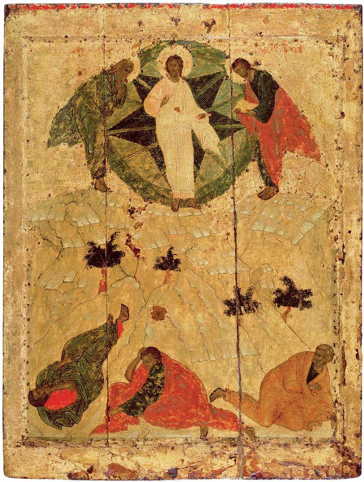 Праздничный чин Благовещенского собора. Рублев. Преображение