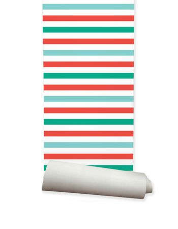 Kids Wallpaper Stripes - ella and sofia product solutions pty ltd