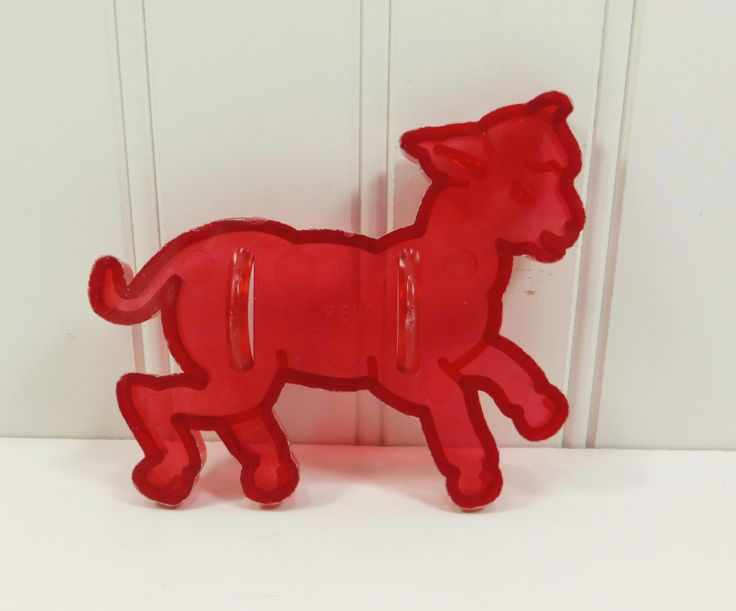 Little Lamb Cookie Cutter, Sheep Cookie Cutter, Easter Spring Baby Lamb Clear Red Plastic Cutter by naturegirl22 on Etsy