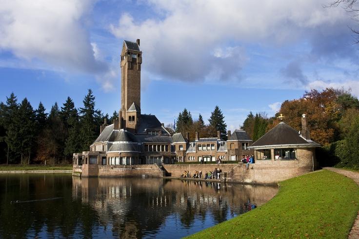 Hendrikus Petrus Berlage, St. Hubertus Hunting Lodge, 1915-1920. Hoge Veluwe National Park, the Netherlands.