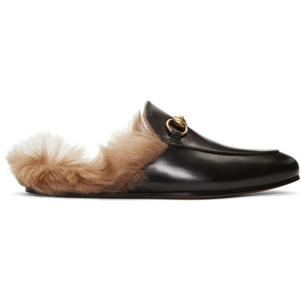 Gucci Black Princetown Slip-On Loafers ($905) ❤ liked on Polyvore featuring men's fashion, men's shoes, men's loafers, black, mens leather loafer shoes, mens slip on shoes, mens black leather shoes, mens leather slip on shoes and mens woven leather slip-on shoes