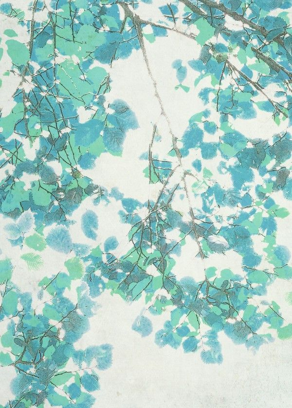 """""""Spring Foliage"""" metal poster by Art Skratches #pattern"""