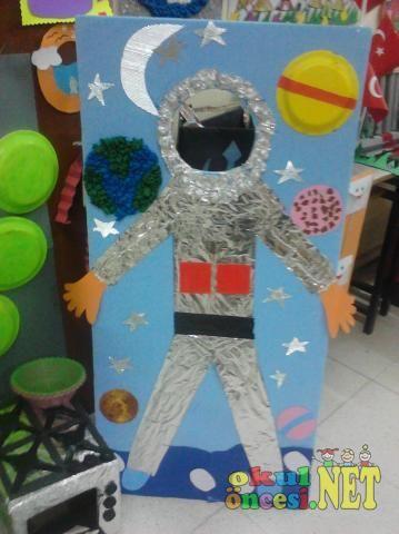 Strafor dan Astronot - Okul Öncesi NET / Okul Öncesi Forum Sitesi