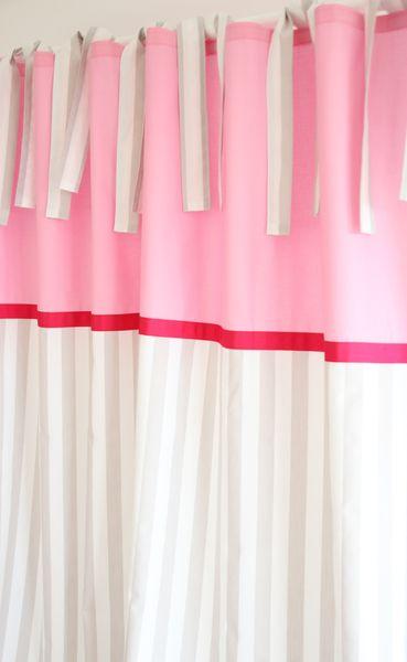 Gardinen & Vorhänge  VorhangGardinen Streifen beigeweiß 140 x 250