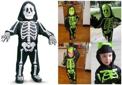 Halloween Costumes For Toddlers | Kids Halloween Costumes Ideas Toddler White Skelebones