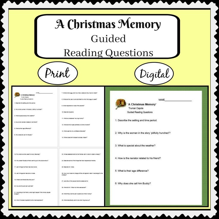an analysis of the short story a christmas memory Page 1 a christmas carol: concept/vocabulary analysis literary text: a christmas carol by charles dickens summary set in england in the 1800s, a christmas carol tells the story of ebenezer scrooge, a.