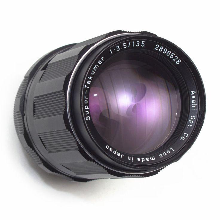 Super Takumar 135mm F3.5 Telephoto Prime LENS Pentax M42 Manual Focus Japan VGC