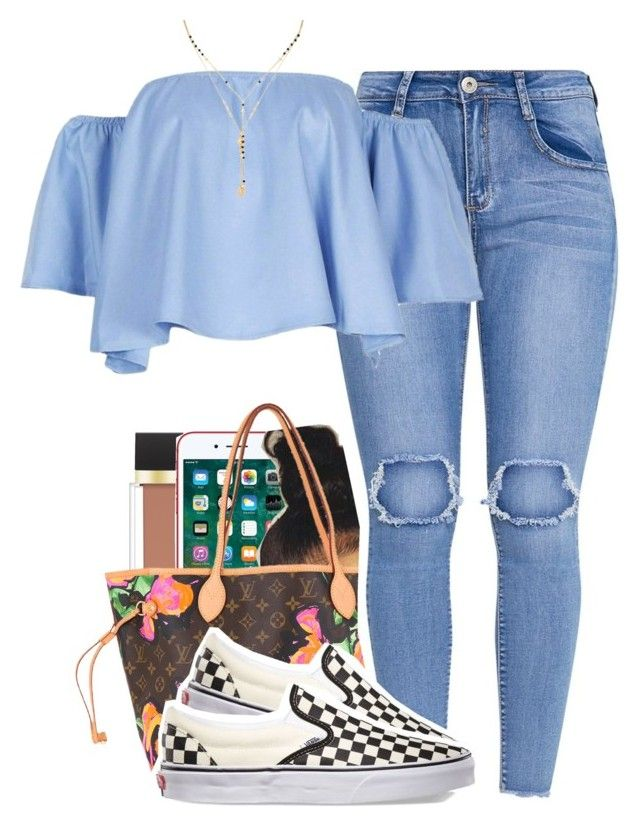 """1098"" by tuhlayjuh ❤ liked on Polyvore featuring Jouer, Louis Vuitton, Vans and Forever 21"