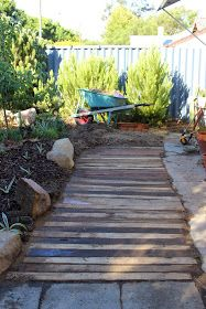 25 best ideas about pallet walkway on pinterest rustic backyard rustic pathways and shipping. Black Bedroom Furniture Sets. Home Design Ideas