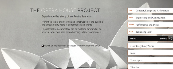The Opera House Project: an interactive documentary